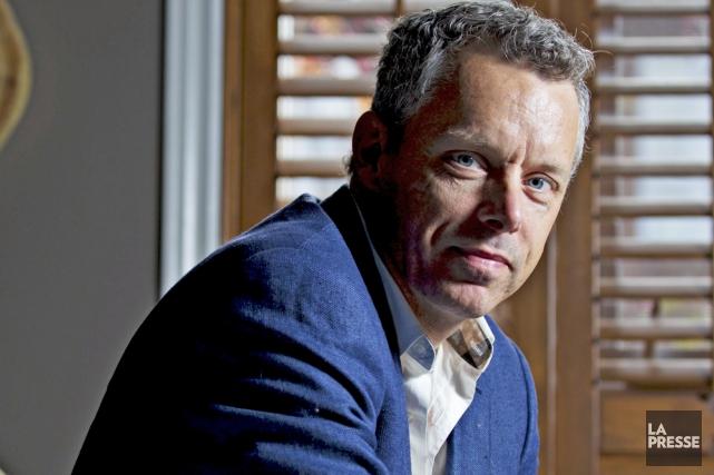 François Lambert a été vu en train de... (Photothèque La Presse)