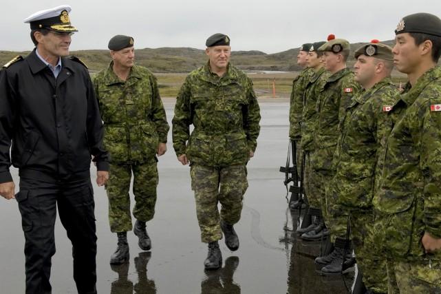 Les Forces armées canadiennes ont levé l'interdiction pour les militaires de... (PHOTO ARCHIVES LA PRESSE CANADIENNE)