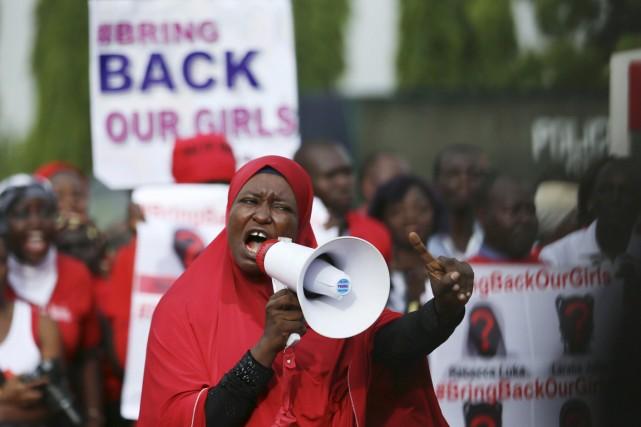 Le sort des jeunes femmes disparues, qui est... (PHOTO AFOLABI SOTUNDE, ARCHIVES REUTERS)
