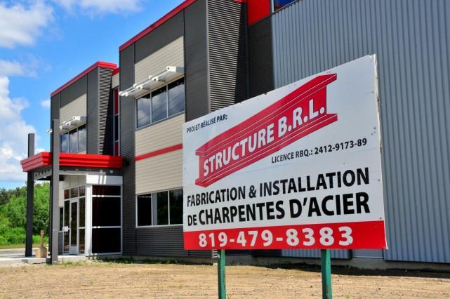 Il est possible que le dossier de Structure d'acier BRL de Drummondville ne... (Photo collaboration spéciale Éric Beaupré)