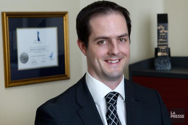 Maxime Lamoureux, planificateur financier au Groupe Investors.... (PHOTO ROBERT SKINNER, LA PRESSE)