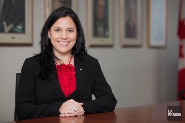 Sophie Sylvain, conseillère en développement des affaires et... (PHOTO EDOUARD PLANTE-FRÉCHETTE, ARCHIVES LA PRESSE)