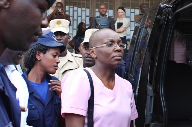 L'opposante Victoire Ingabire a été condamnée à 15... (PHOTO STEPHANIE AGLIETTI, ARCHIVES AFP)