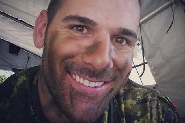 Nathan Cirillo... (PHOTO LA PRESSE CANADIENNE)