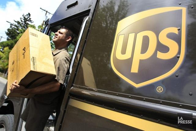 Les sociétés de messagerie, UPS en tête, avaient... (Photo archives Associated Press)