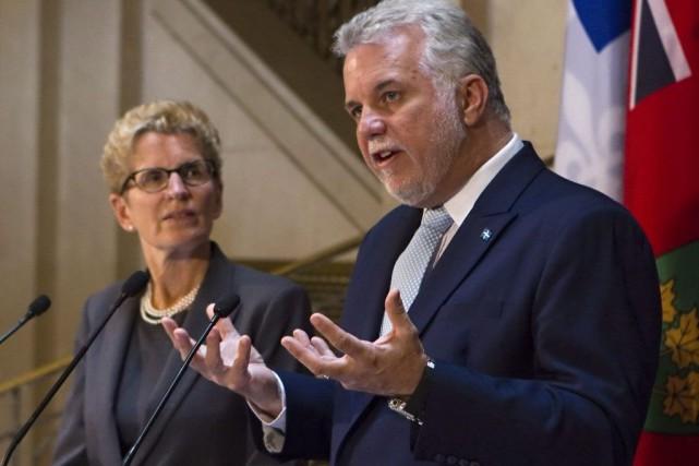 Le premier ministre Philippe Couillarda déclaré qu'il espérait,... (Photo Clément Allard, PC)