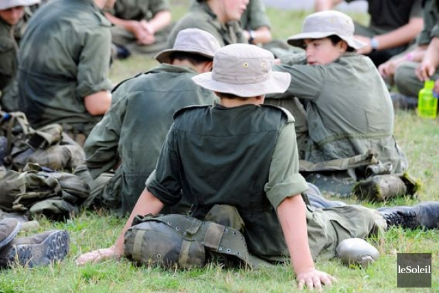 Le bivouac d'automne annuel du corps de cadets... (Photothèque Le Soleil, Erick Labbé)