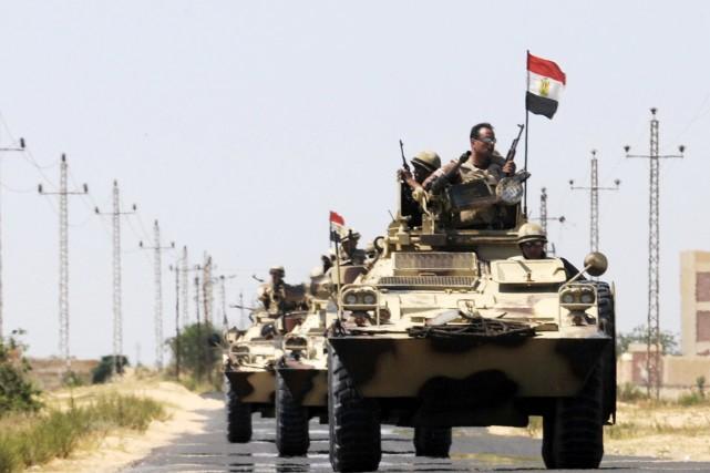 L'Égypte est le théâtre d'une vague d'attentats visant... (PHOTO ARCHIVES REUTERS/STRINGER)