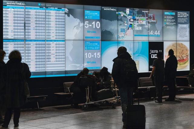 Une forte hausse du trafic passagers a permis à Aéroports de Montréal de... (PHOTO FOURNIE PAR AÉROPORTS DE MONTRÉAL)