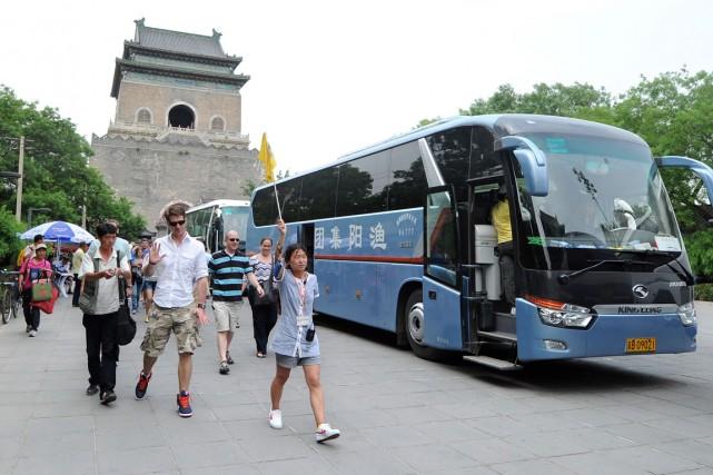 Les Occidentaux ont la cote en Chine, plusieurs... (PHOTO FREDERIC J. BROWN, ARCHIVES AFP)
