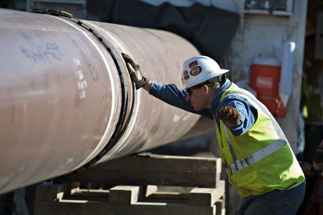 La société pétrolière souhaite acheminer vers les raffineries... (Photo archives Bloomberg)
