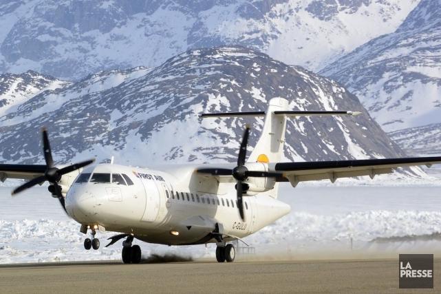 Avec une flotte de 23 appareils, First Airrelie... (Photo Bernard Brault, Archives La Presse)