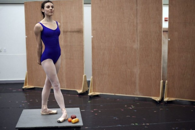 Little Dancer, actuellement en répétition à New York,... (Photo: AFP)