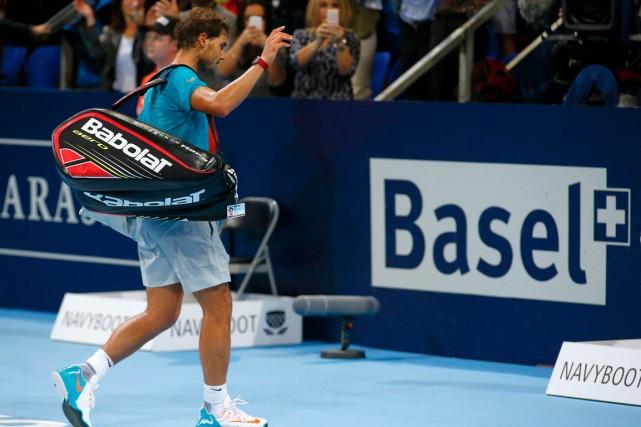 Rafael Nadal a été éliminé en quarts de... (Photo Arnd Wiegmann, Reuters)