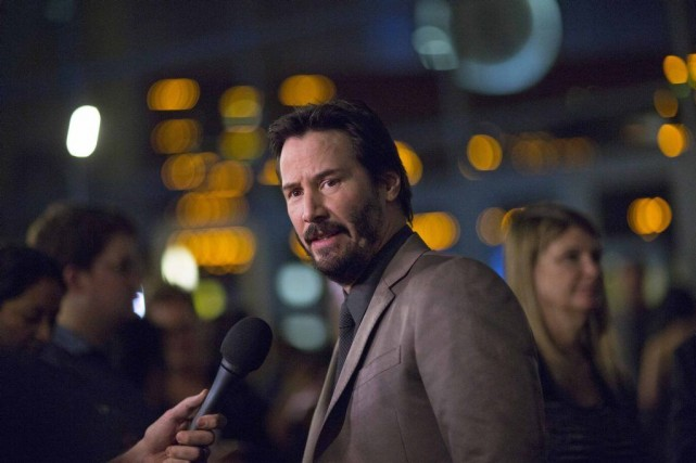 Keanu Reeves incarne John Wick, un ex-tireur à... (Photo Reuters)