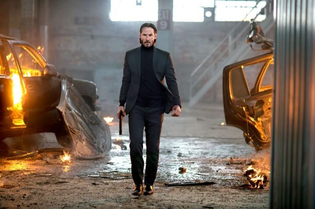 Keanu Reeves (John Wick) joue les justiciers dans... (Photo fournie par les films Séville)