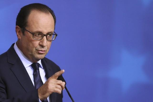 Quelque 15% des sondés souhaitent que François Hollande... (PHOTO FRANCOIS LENOIR, REUTERS)