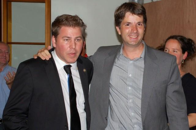 Le fondateur du nouveau parti Forces et démocratie,... (Collaboration spéciale Johanne Fournier)
