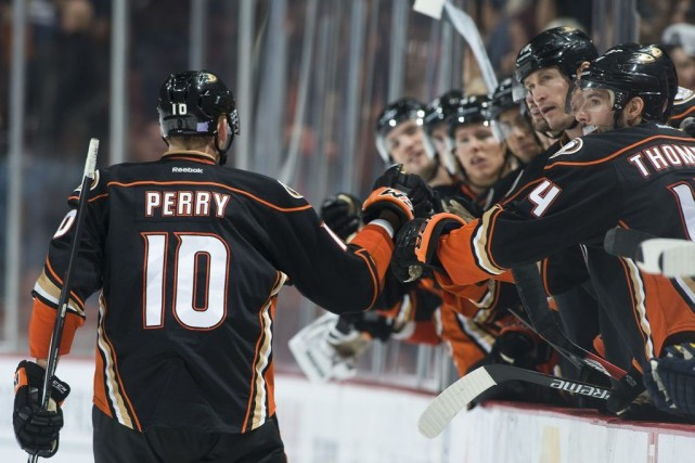 Corey Perry... (PHOTO KEVIN SULLIVAN, AP)