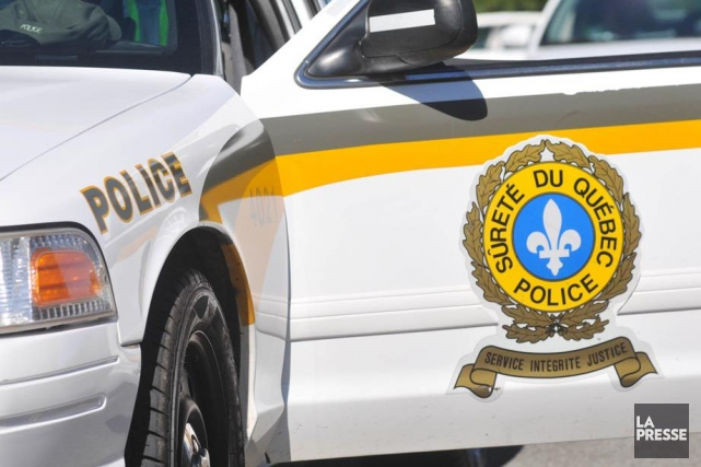 Une personne a perdu la vie tôt samedi matin dans une sortie de route, à... (Photothèque La Presse)