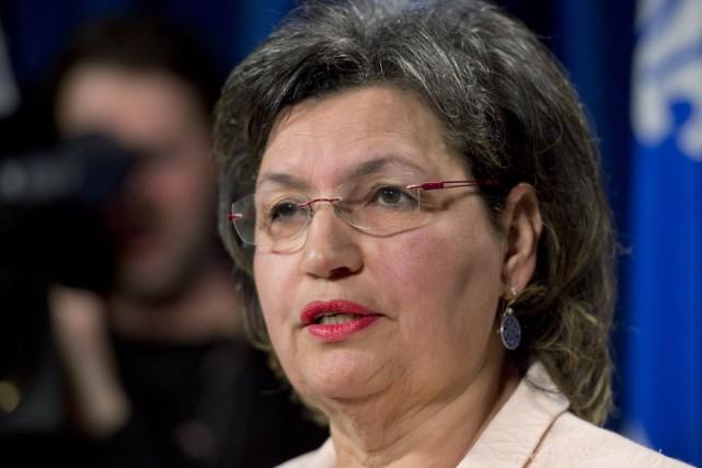 Fatima Houda-Pepina déposé en février dernier un projet... (Archives La Presse Canadienne)