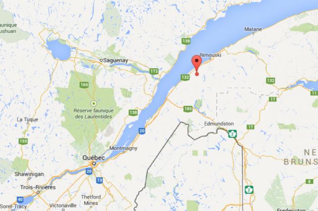 Un jeune homme dans la vingtaine est mort... (Google Maps)