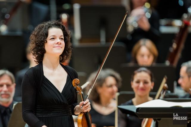 La jeune violonisteYukari Cousineau... (PHOTO EDOUARD PLANTE-FRECHETTE, ARCHIVES LA PRESSE)
