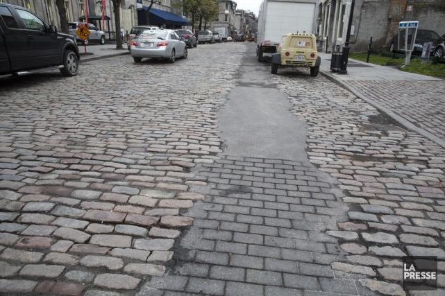 La Ville reconnaît que l'imitation n'est pas parfaite,... (Photo François Roy, La Presse)