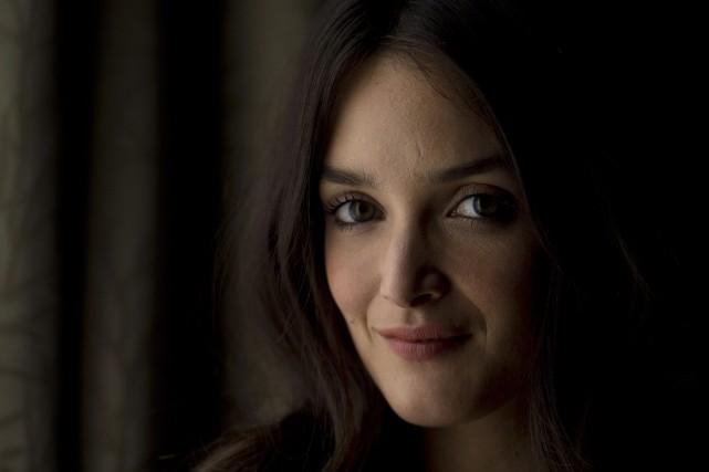 L'actrice etex-Miss Météo de Canal+ incarnera une Française... (Photo Nathan Denette, La Presse Canadienne)