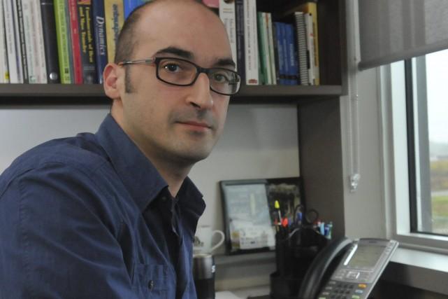 Giovani Pucella, ingénieur en mécanique chez STAS, a... ((Photo Michel Tremblay))