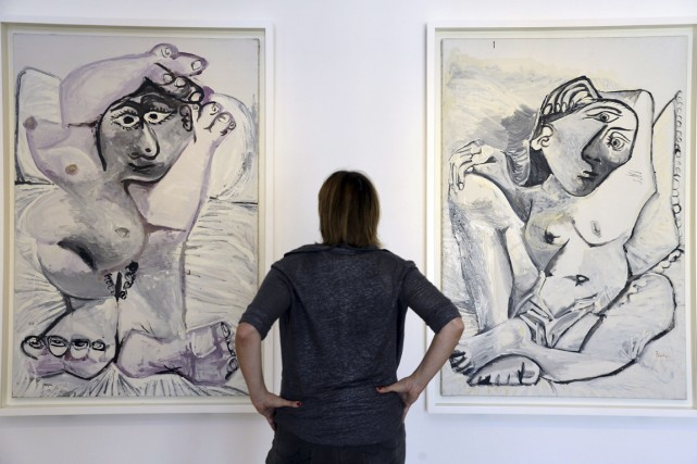 La collection du musée Picasso de Paris compte... (Photo Bertrand Guay, AFP)