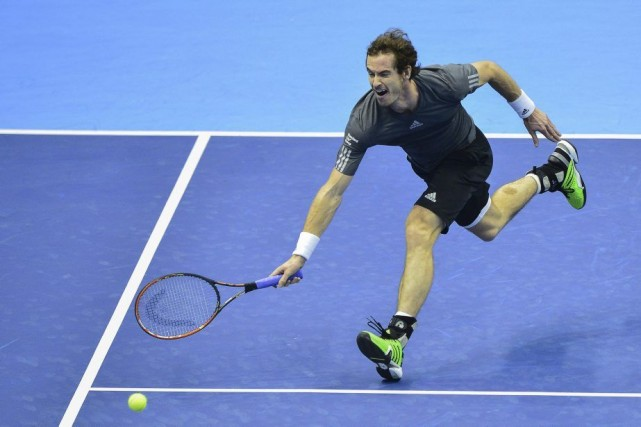 Andy Murray... (PHOTO JOSE JORDAN, AFP)