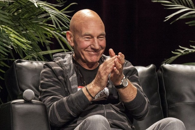 L'acteur britannique Patrick Stewart... (Photo archives AP)