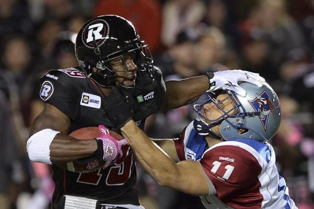 Le Rouge et Noir a enregistré une 14e... (Sean Kilpatrick, La Presse Canadienne)