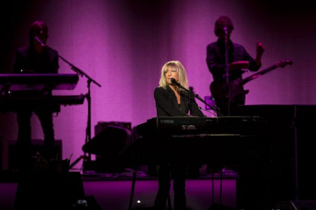 Christine McVie avec Fleetwood Mac lors d'un spectacle... (Archives, The New York Times)