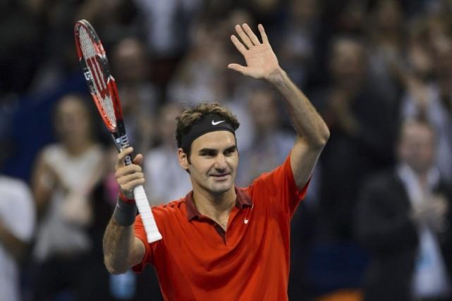 Roger Federer est originaire de Bâle.... (PHOTO FABRICE COFFRINI, AFP)