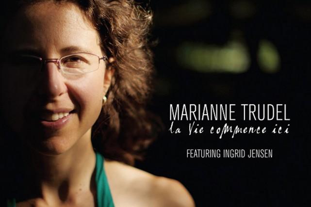 La pianiste Marianne Trudel a fait appel à une trompettiste de renom, la...