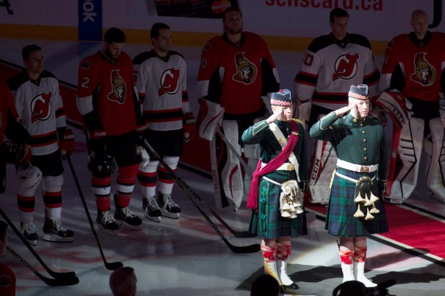 Les partisans dans les arénas d'Ottawa, Montréal et... (PHOTO ADRIAN WYLD, PC)