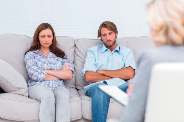 En psychothérapie conjugale, il se produit des moments... (Photo Shutterstock, wavebreakmedia)