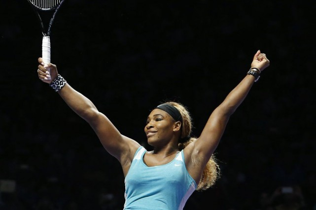 Serena Williams... (PHOTO EDGAR SU, REUTERS)