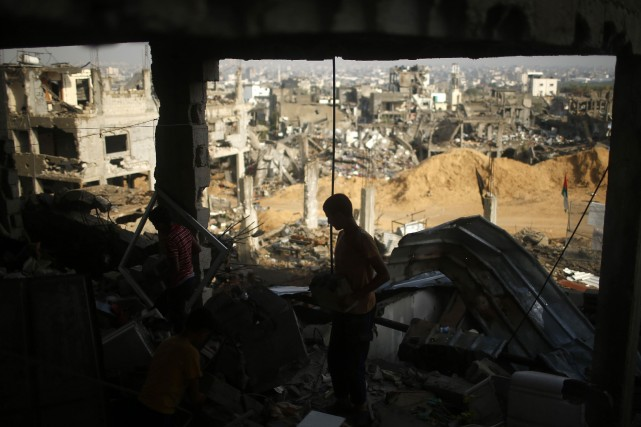 Le 26 août, Israël avait conclu un accord... (Photo MOHAMMED SALEM, REUTERS)