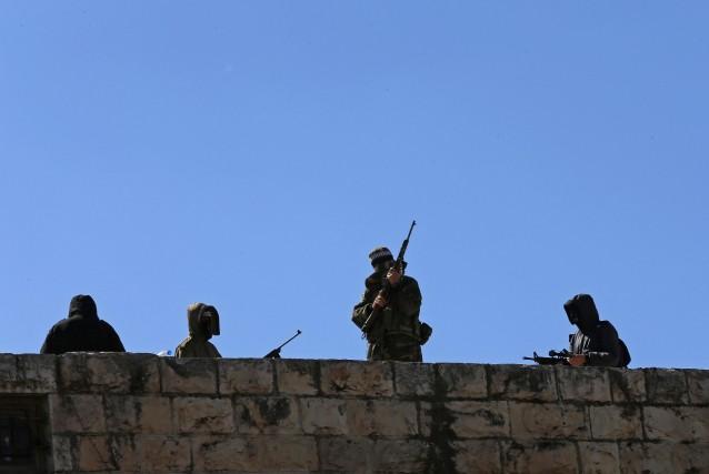 Les forces de sécurité de Jérusalem ont reçu... (Photo AMMAR AWAD, Reuters)