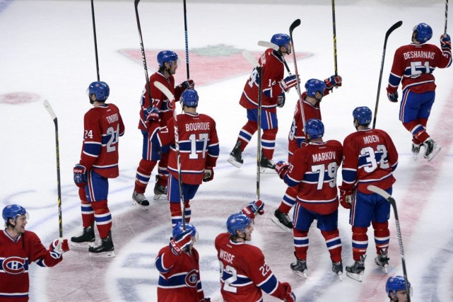 Le Canadien a connu un séjour parfait de... (PHOTO ERIC BOLTE, USA TODAY)