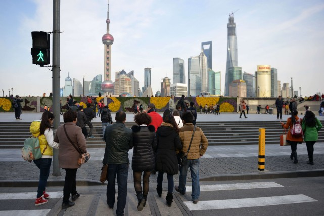 En Chine, les journalistes et les équipes de... (Photo PETER PARKS, Archives AFP)