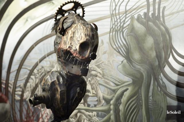 L'une des pièces exposées à la galerie Le... (Le Soleil, Jean-Marie Villeneuve)