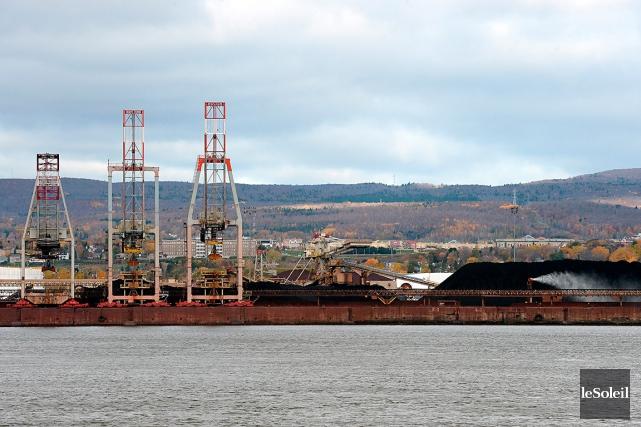Le projet d'agrandissement du port de Québec prévoit... (Photothèque Le Soleil, Erick Labbé)