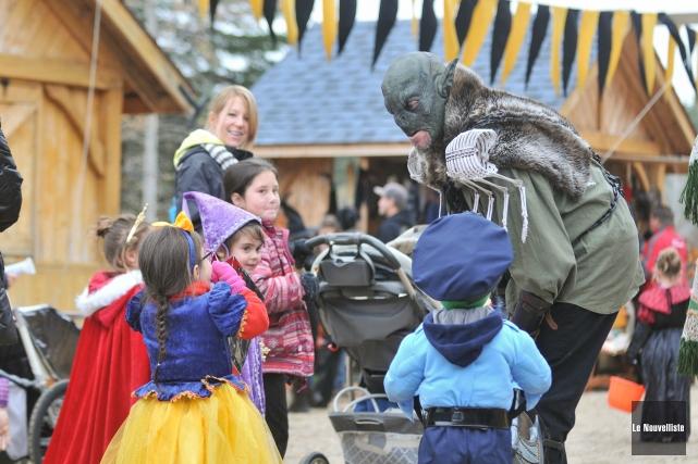 Les enfants étaient invités samedi à visiter le... (Photo: Émilie O'Connor, Le Nouvelliste)