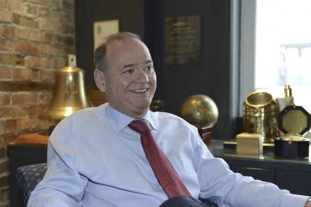 Louis-Marie Beaulieu, président de Groupe Desgagnés.... (PHOTO FOURNIE PAR GROUPE DESGAGNÉS)