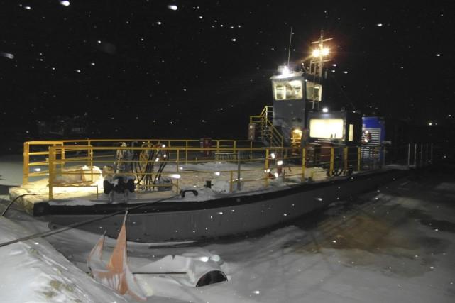 Concept Naval a conçu un brise-glace démontable.... (PHOTO FOURNIE PAR CONCEPT NAVAL)