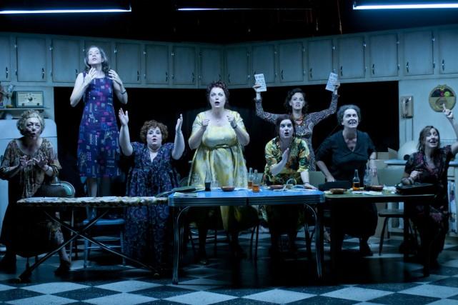 Ceux qui ont vu la pièce musicale en... (Photo: fournie par le Centre Segal)